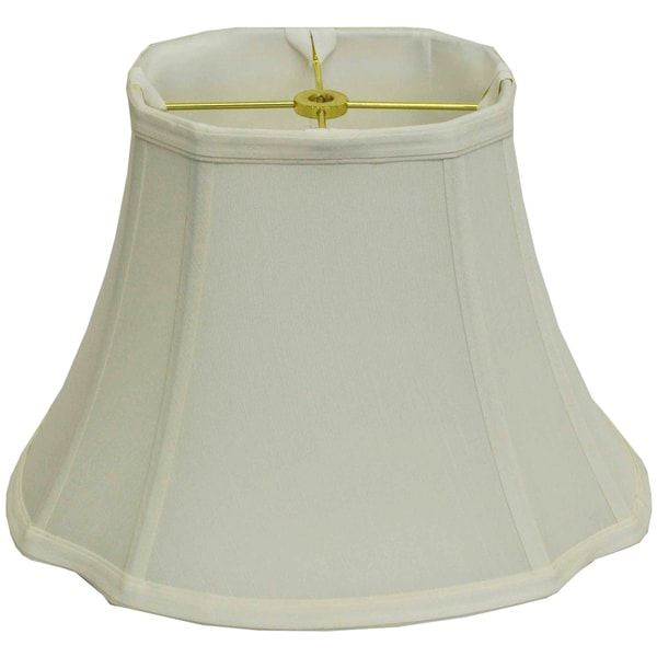 "Oval Cut-corner Silk Lamp Shade - 10""l x 13""w x 9""h"