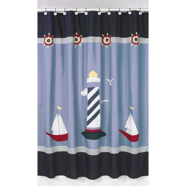Shop Sweet Jojo Designs Come Sail Away Nautical Shower