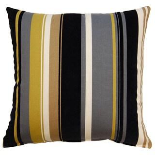 Caressa Ebony 17-inch Throw Pillows (Set of 2)
