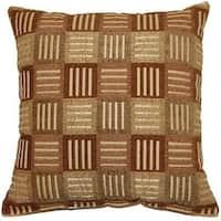 Crosshatch Jade 17-inch Throw Pillows (Set of 2)