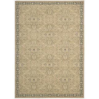 Riviera Sand Wool Blend Rug (3'6 x 5'6)