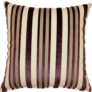 Hillside Plum 17-inch Throw Pillows (Set of 2)
