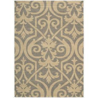 Riviera Slate Wool Blend Rug (3'6 x 5'6)