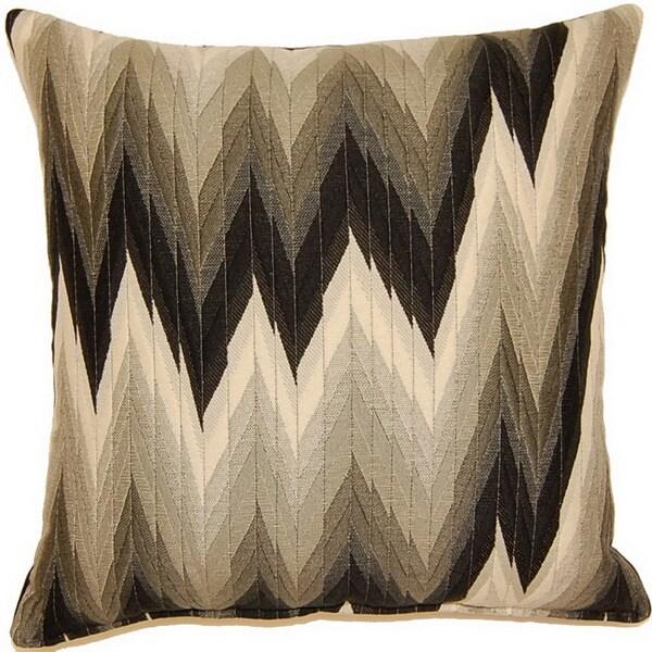 Massimo Graphite 17-inch Throw Pillows (Set of 2)