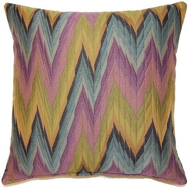 Massimo Purple 17-inch Throw Pillows (Set of 2)
