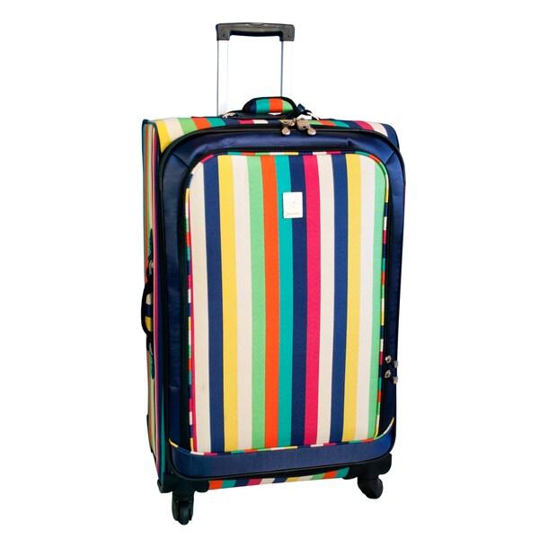 Jenni Chan Multi Stripes 28-inch 360 Quattro Spinner Upright