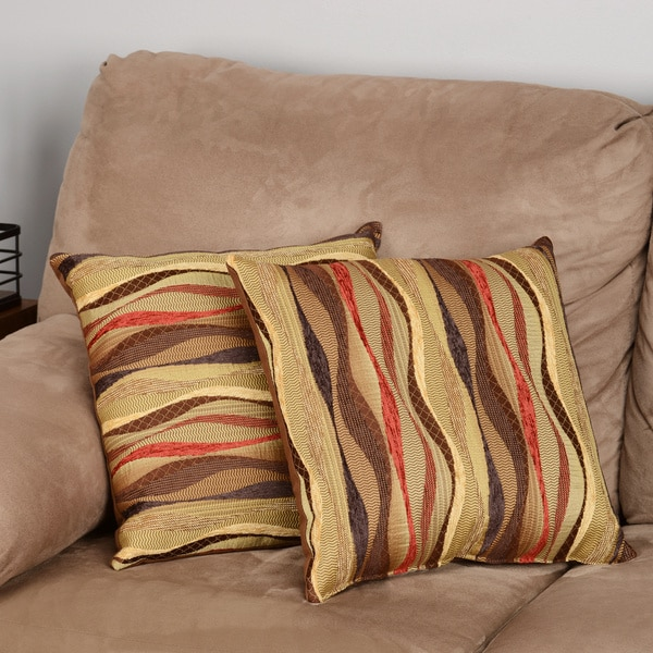 new wave brick 17 inch throw pillows set of 2 free