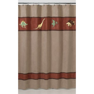 Sweet Jojo Designs Dinosaur Kids Shower Curtain