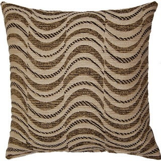 Pulse Black 17-inch Throw Pillows (Set of 2)