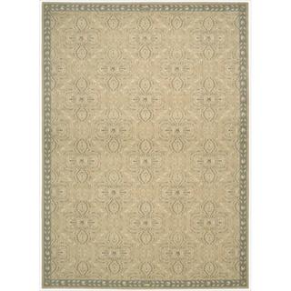 Riviera Sand Wool Blend Rug (7'9 x 10'10)