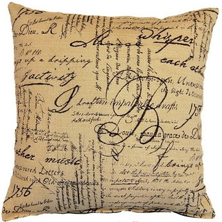 Whisper Mocha 17-inch Throw Pillows (Set of 2)