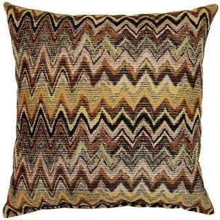 Zig Zag Earth 17-inch Throw Pillows (Set of 2)