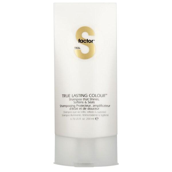 TIGI S Factor True Lasting Colour 6.76-ounce Shampoo
