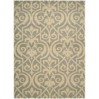 Riviera Slate Wool Blend Rug (7'9 x 10'10)