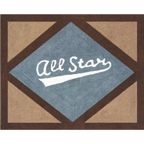 Sweet Jojo Designs All Star Sports Accent Floor Rug