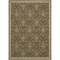 Riviera Chocolate Wool Blend Rug