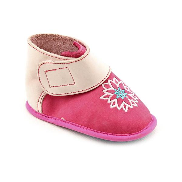 L'amour Girl's '27377' Faux Suede Casual Shoes (Size 4)