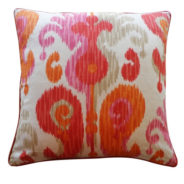 Jiti 24-Inch 'Pink' Decorative Pillow