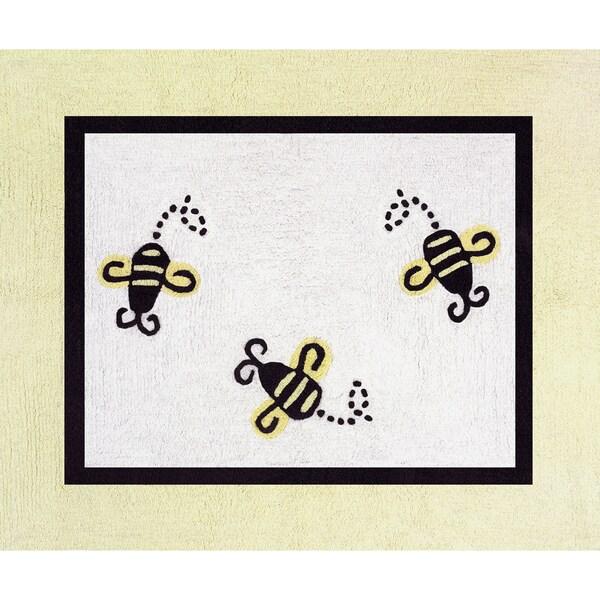Sweet Jojo Designs Bumblebee Accent Floor Rug