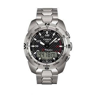 Tissot Men's T0134204420200 Titanium Touch Expert Watch