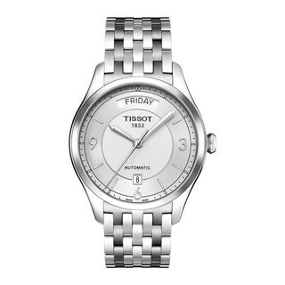 Link to Tissot Men's T0384301103700 Stainless Steel T-One Automatic Watch Similar Items in Men's Watches