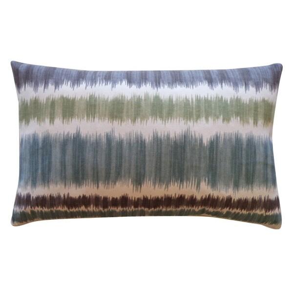 Jiti 12-inch x 20-inch 'Static' Blue Decorative Pillows