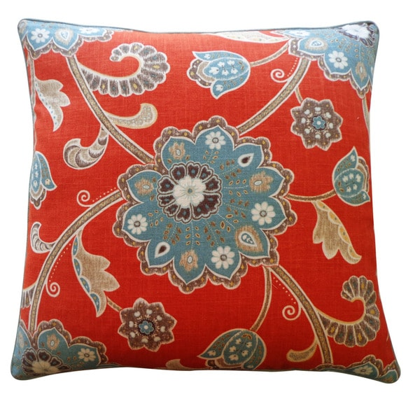Jiti 24-inch 'Amaryllis' Decorative Pillow