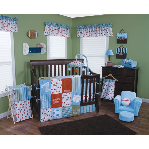 Trend Lab Little MVP 5-piece Crib Bedding Set