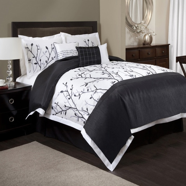 Shop Lush Decor Tree Branch 6 Piece Comforter Set Free Shipping Today