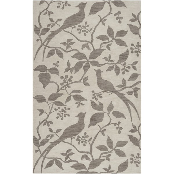 """Hand-tufted Vaughan Taupe Area Rug - 8' x 10'6"""""""