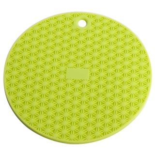 Miu France Silicone Round Pot Holder (Set of 2) (Option: Green Lime)
