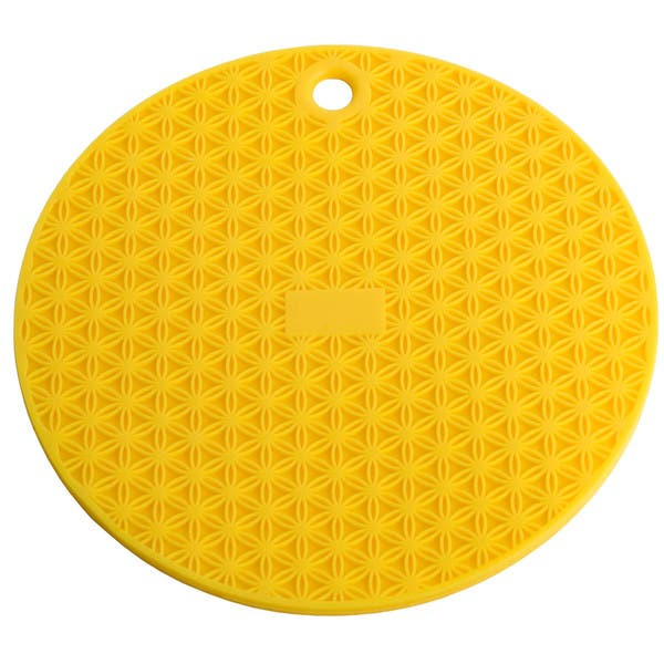 MIU France Set of 2 Silicone Pot Holders Yellow