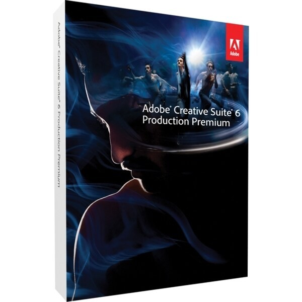 Adobe Creative Suite v.6.0 (CS6) Production Premium (Student & Teache