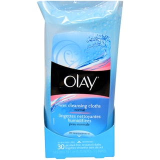 Olay for Women Wet Cleansing Cloths Normal (30-pieces)