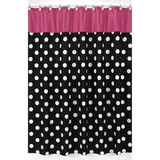 Sweet Jojo Designs Hot Dot Modern Shower Curtain