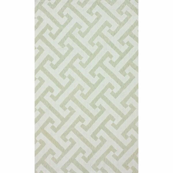 nuLOOM Handmade Marrakesh Trellis Contemporary Cotton Chenille Rug (5' x 8')