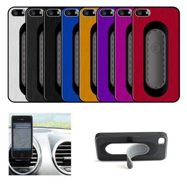 Apple iPhone 4(S) Aluminum Gravitate Clip Stand Case