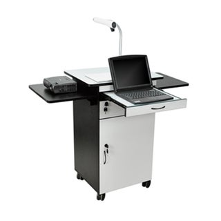 Offex Wood Sturdy Multimedia Computer Workstation Desk