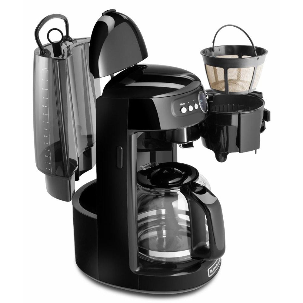 KitchenAid KCM1402OB Onyx Black 14-cup Coffee Maker (KCM1...