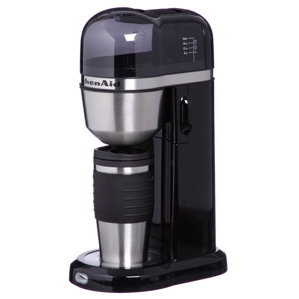 Kitchenaid Coffee Maker ~ Shop kitchenaid kcm ob onyx black personal coffee maker
