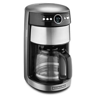 KitchenAid KCM1402CU Contour Silver 14-cup Coffeemaker