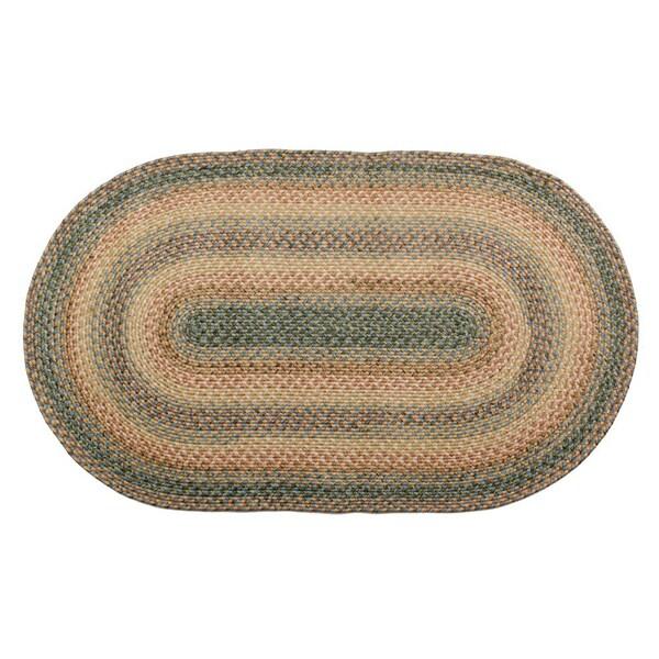 Sea Breeze Indoor/ Outdoor Braided Rug (2' x 3' Oval)
