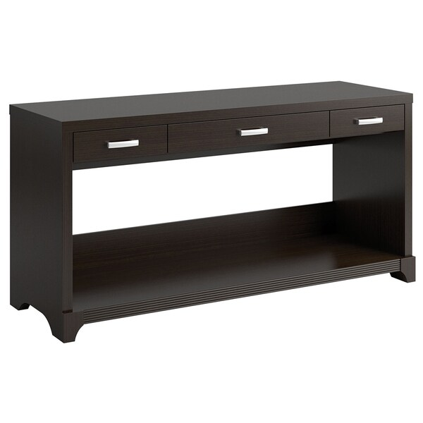 Bush Furniture Lattix Collection Sofa Table/ Desk