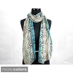 Snake Print Fashion Scarf