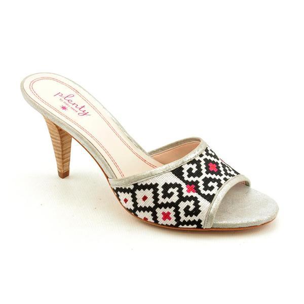 Plenty by Tracy Reese Women's 'Zula' White Basic Textile Sandals