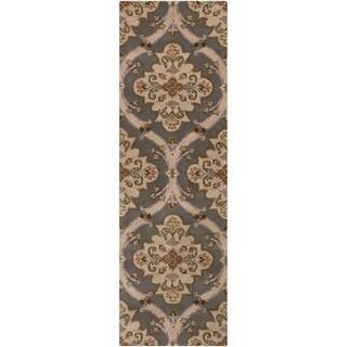 Hand-tufted Piacanza Multi Wool Rug (2'6 x 8')
