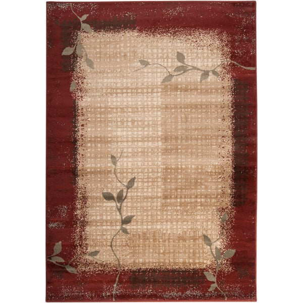 Trieste Red Rug (2' x 3')