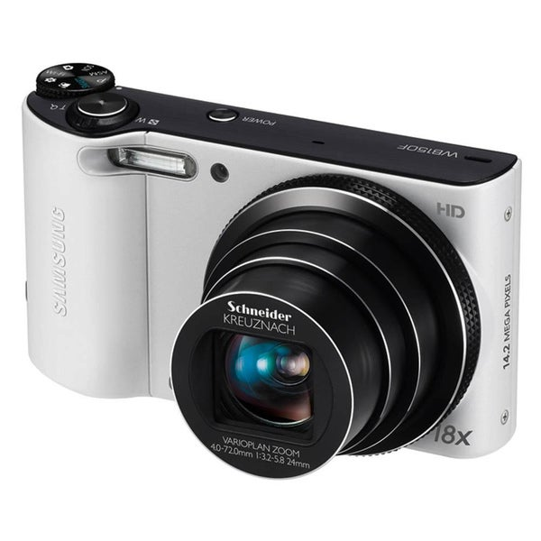 Samsung WB150F 14.2MP White Digital Camera