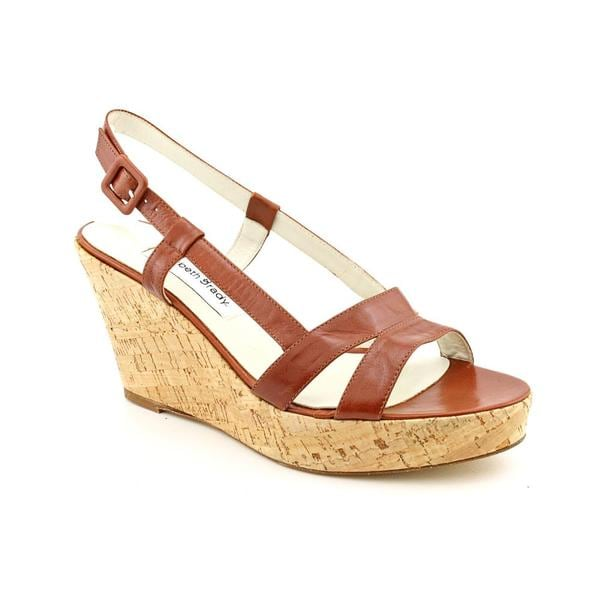 Elizabeth Brady Women's 'Lisa' Leather Sandals