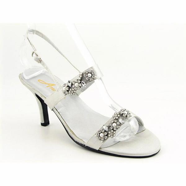 Annie Women's 'Janis' Satin Sandals - Extra Wide (Size 7)